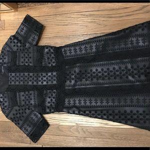 Zara leather dress, size small